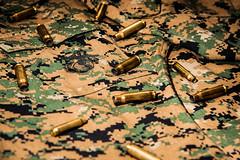 USMC (Daniel Bernhart) Tags: usa shirt usmc woodland nikon marines nikkor camoflage 70200 cartridge 223 308 usmarines marpat nikond3