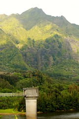 Tower (photawwgraphy) Tags: travel vacation plants usa mountains green tower tourism nature water landscape hawaii pretty oahu hiking scenic naturallight hikes windwardcoast
