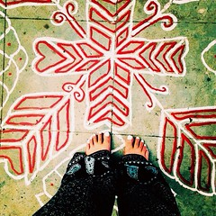 Go barefoot (FreeSpirit_MN) Tags: charity india white art feet beauty painting foot toes toe bare details bangalore streetphotography study changing abroad barefoot donation toms nailpolish ankle simple indiancity makeadifference changetheworld studyingabroad indianclothing bangaloreindia cementpainting bangaluru iphonephotography whitetoenails pallazzopants barefootchallange