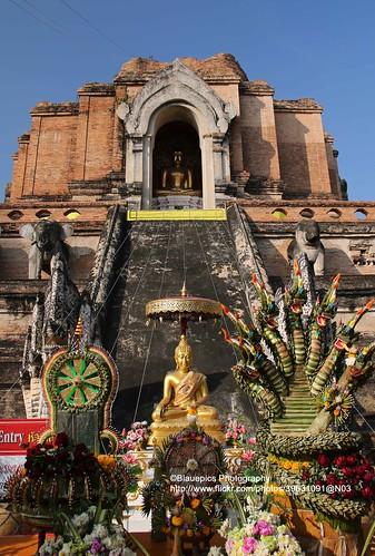Chiang Mai, Wat Chedi Luang, Buddha