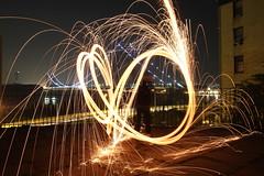 IMG_7245 (Tessa Beligue) Tags: lighting longexposure nightphotography wool night fire steel places spinning poi fuego gwbridge firelight lightwriting slosyncro withjamie jayhoodpark steelwoolspinning