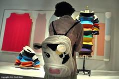 The Fashionable Cow (Trish Mayo) Tags: fashion museum cow backpack met metropolitanmuseum metropolitanmuseumofart metmuseum costumeinstitute thebestofday gnneniyisi cowbackpack manusxmachina