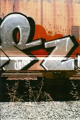 Hour R (deepinthecuts) Tags: graffiti berkeley hour freights benching berkeleygraffiti