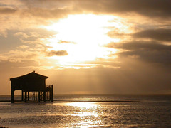 DSCN2024 (lignesbois) Tags: sunrise lever soleil bassin arcachon le oiseaux cabanes tchanques gironde aquitaine mer nikon 4500