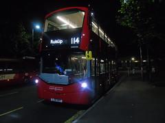 Pre-Metroline Frogface (ultradude973) Tags: bus 114 vh45194 lj16ewt london sovereign ruislip station frogface wright gemini 3 volvo b5lh