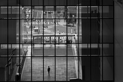 Kyoto station (Salle-Ann) Tags: kyoto station bw street urban japan isolation solitary