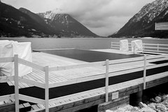 closed (pat.netwalk) Tags: achensee closed partytime mountains lake tirol copyrightpatrickfrank lines