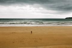 Xixn (Carles Cerulla) Tags: xixn asturias playa silueta personas color mar lorenzo arena