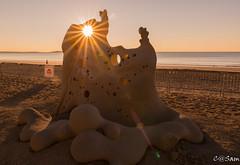 SSS_0205 (Sam 8899) Tags: sand sculpture beach sunrise morning light sky sea color