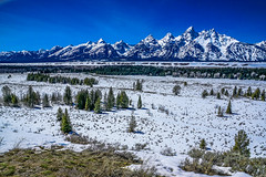 Grand Teton range--DSC00530--Jackson Hole Valley, Wyoming (Lance & Cromwell back from a Road Trip) Tags: grandtetons nationalpark roadtrip 2016