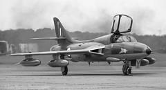 Hunter (Dan Martins1) Tags: bw canon jets 7d hunter raf coldwar bruntingthorpe