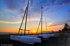 a mexican sunset (Rex Montalban Photography) Tags: sunset sunrise mexico boat nuevovallarta catamaran hdr grandmayan rexmontalbanphotography vidanta