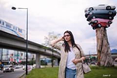 Busy Tuesday (Samir D) Tags: canada vancouver 35mm canon twilight model transport diana commute northamerica vans skytrain vancity 2016 markiii 35mm14 samird vancitybuzz