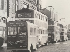 When the trolleybus was king (st_asaph) Tags: hull trolleybus mobileshop eyms khct