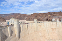 Hoover Dam (Trucks, Buses, & Trains by granitefan713) Tags: nv nevada bouldercity hooverdam dam scenic mountain az arizona bridge mikeocallaghanpattillmanmemorialbridge manmade engineeringfeat