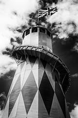 House of Fun (Julian Pett) Tags: bristol harbour harbourfest harbourside slide flag festival fairground