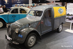 Citron 2CV Fourgonette YACCO (fangio678) Tags: retromobile 04 02 2016 paris voituresanciennes voiture voitures collection cars classic coche oldtimer youngtimer citron 2cv fourgonette yacco french francaise