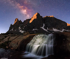Moonrise at Cirque of the Towers. (Joh nny1) Tags: