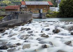Wehr an der Ostrach (matthiashn) Tags: allgu oberallgu bayern bavaria germany ostrach fluss river landschaft landscape canoneos5d3 ef2470mmf28liiusm nd lee bigstopper