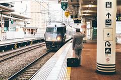DSCF6224 (StagnantLife & Bearangel) Tags:  platform salute captain fukuoka trasnportation japan  travel xphotographer jr