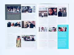 Kingston College Newsletter 2016 (Inside) (aydinimustafa) Tags: graphics graphic graphicdesign design art artwork illustration type text typography editorial layout book colour college school university work job placement photography grid inspiration posters poster banner leaflet digital print photoshop indesign illustrator carshalton kingston branding campaign summer brand logo marketing advertisement ideas development billboards socialdesign exploration experimentation xerox newsletter