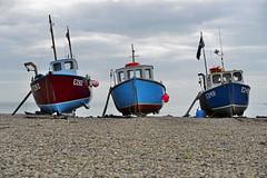 Beer, Devon 08/04/2016 (Gary S. Crutchley) Tags: east devon west country uk great britain england united kingdom nikon d800 travel beer fishing boats beach jurassic coast world heritage