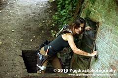 Tomb Raider Shoot with Annick 29 (berserker244) Tags: yggdrasilphotography60072016 guerrillaphotography yggdrasilphotography evandijk annick annickscosplay laracroft tombraider riseofthetombraider grebbeberg rhenen