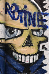 Montagsgesicht (nirak68) Tags: lbeck schleswigholsteinkreisfreiehansestadtlbeck deutschland ger 227366 gesicht routine graffity mauer kunst 2016ckarinslinsede