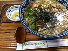 Ramen topped with boiled chicken #2 from Suisha @ Tendo (Fuyuhiko) Tags:      ramen topped with boiled chicken from suisha tendo  yamagata pref prefecture