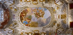 Palazzo Gambacorti, soffitto (Giovanni V.) Tags: pisa italia italy palazzo palace gambacorti comune town hall municipio panorama hdr