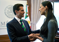 Reunin con la bailarina de ballet, Elisa Carrillo (Presidencia de la Repblica Mexicana) Tags: epn enriquepeanieto presidente presidencia elisa carrillo ballet