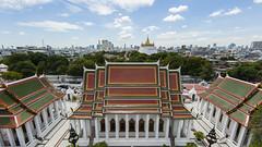 View of Bangkok and Golden Mount (Context Travel) Tags: bangkok shutterstock