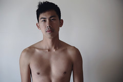 so very far away (Eddie Hao) Tags:   boy asiaman asiaboy male taiwan taiwanese indoor     shorthair  bedroom room