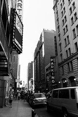 Park Wherever (B Clever Photo) Tags: parking street streetphotography streetphoto nyc ny blackandwhite photography bw sony a6300