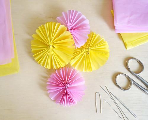 PAP: Flores de papel de seda