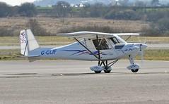 G-CLIF (goweravig) Tags: uk swansea wales visiting aircrft swanseaairport gclif