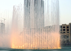 Dancing Fountain (usman9) Tags: water fountain mall dubai dancing dubaimall