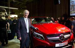 04-09-2015 Governor Bentley helps launch Mercedes GLE Coupe