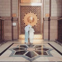 Alhamdulillah. selawat salam keatas baginda nabi Muhammad rasulAllah. #masjidnabawi #madinah #nabawi #mosque #masjid #prophet #allah #muhammad  Two man looking at their cellphone outside prophet mosque. (enchek shah) Tags: square muslim islam mosque arab squareformat saudi haji haram prophet mecca allah umrah muhammad mekah aden haj madinah kaabah baitullah iphoneography instagramapp uploaded:by=instagram