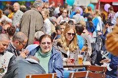 2015-05-10  Bruxelles - Place Royale -  Fête de l'iris (P.K. - Paris) Tags: street people café belgium belgique terrace candid may terrasse bruxelles sidewalk mai brussel 2015