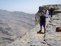 At Jebel Shams, 3000 masl, Oman!