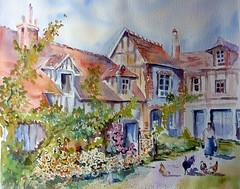 P1070488 (Evelyne Germain-Lacour) Tags: france normandie maison ferme