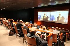 MEP Sirpa Pietikäinen, patronising the event
