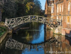 Mathematical Bridge  at Cambridge (keithhull) Tags: mathematicalbridge bridge historic cambridge university cam explore