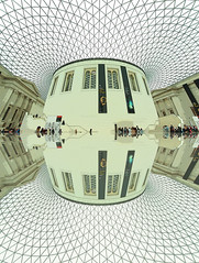 British Museum Great Court (ec1jack) Tags: britishmuseum greatcourt roof bloomsbury london england britain uk europe museum july 2016 ec1jack kierankelly canoneos600d summer glass