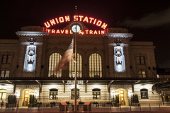 Denver_20160711_138 (falconn67) Tags: city longexposure travel night canon colorado neon denver trainstation unionstation 24105l 5dmarkii