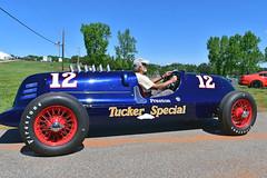 1938 Gulf Miller Tucker Special recreation (Thumpr455) Tags: ca blue race georgia nikon automobile gulf 1938 voiture historic miller april recreation autoracing hsr sportscar mitty roadatlanta uto 2016 braselton d5500 worldcars tuckerspecial