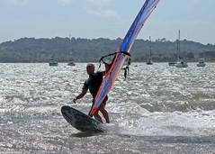 Aug0306a (Mike Millard) Tags: hamworthypark pooleharbour windsurfers