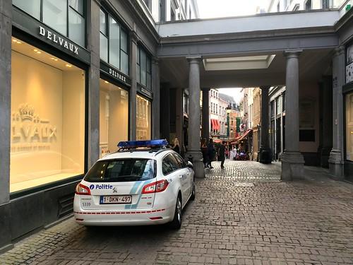 Peugeot 508 SW Brussels Belgian Police Car