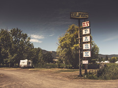 letters to Hopper (Jo-H) Tags: halfway oregon rv park nostalgia vintage americana warm summer